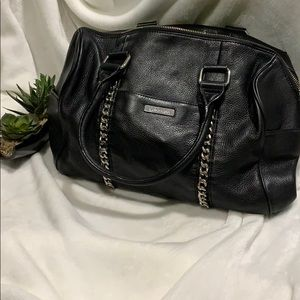 Soft leather Calvin Klein purse